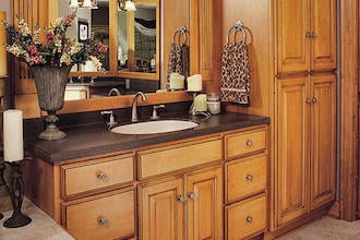 Graber Supply Solid Wood Construction Cabinets
