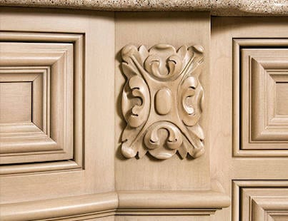 Graber Supply Woodcarving for Cabinets