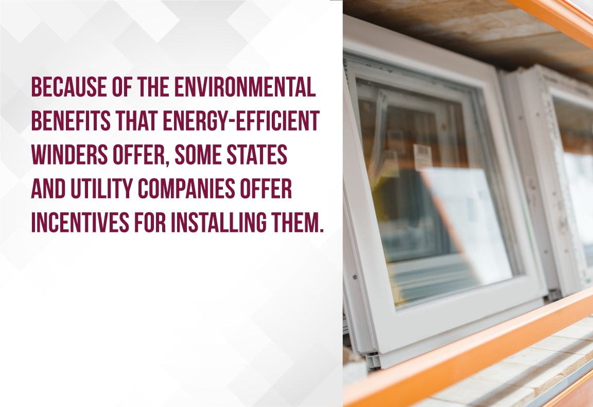 get incentives for installing energy efficient windows