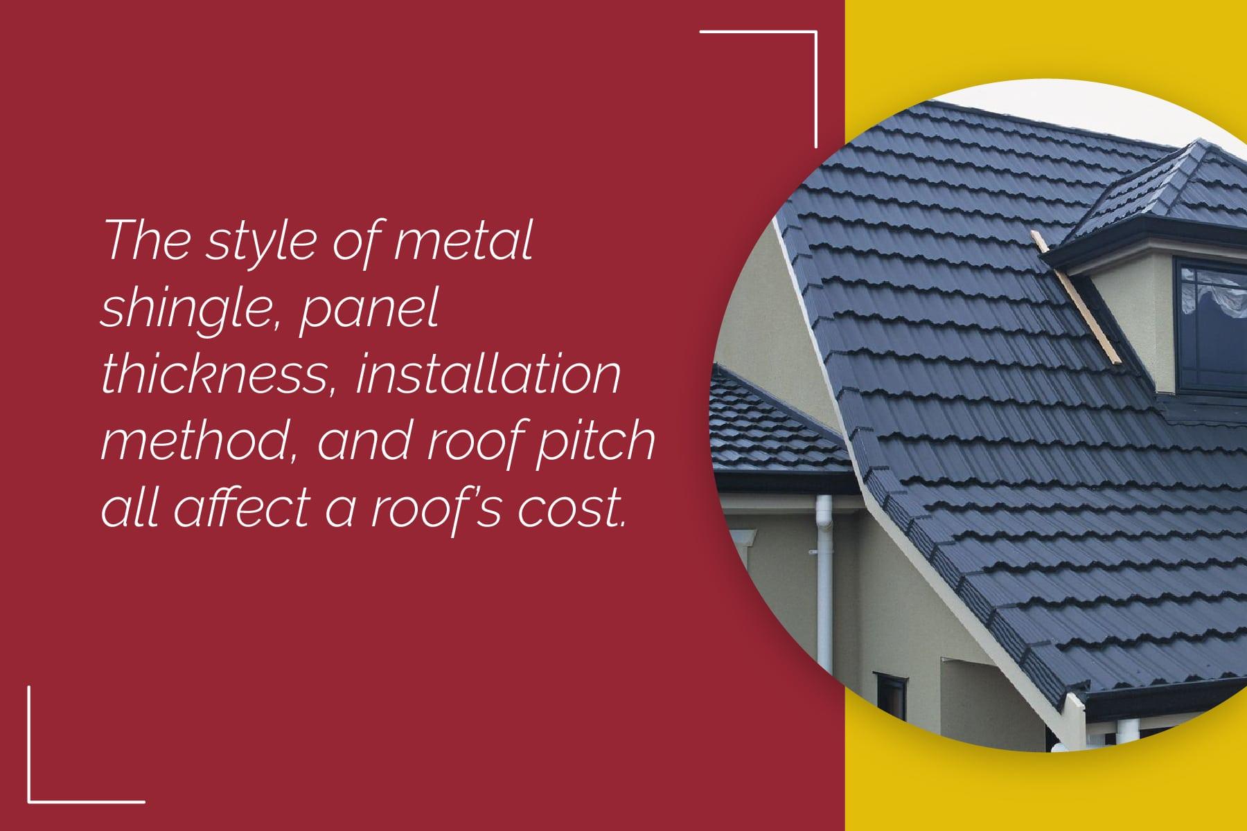 cost factors for Decra roofing